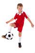 junger Fussballprofi