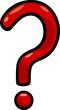 question mark clip art cartoon illustration