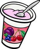 yogurt clip art cartoon illustration