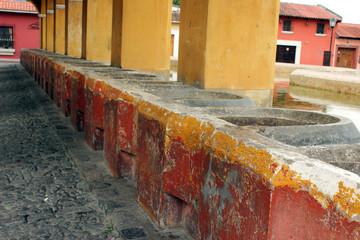Lavaderos, Tanque La Unión, Antigua Guatemala