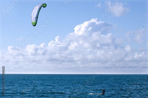 Kite Boarding Sea Sport