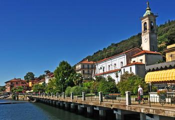 Belgirate, lungolago  - Lago Maggiore