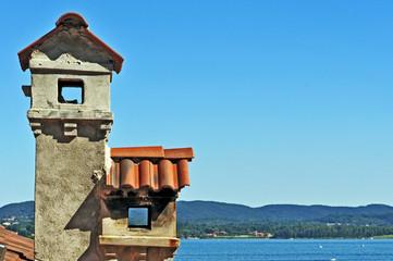 Comignoli o camini sul Lago Maggiore, Piemonte