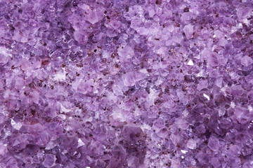 background of natural amethyst