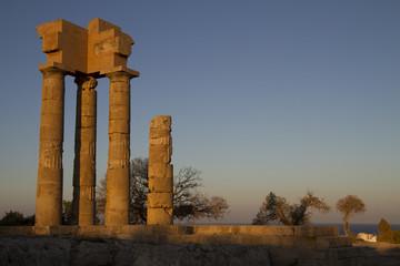greek temple in Rhodes