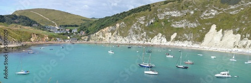 Lulworth Cove (panorama)