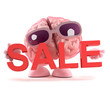 Brain holds a Sale