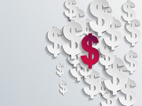 Dollar sign background