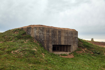 Old military pillbox