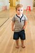 Young Boy in Kindergarten