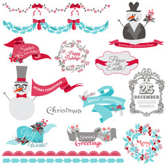 Christmas Snowman and  New Year Theme - for decoration