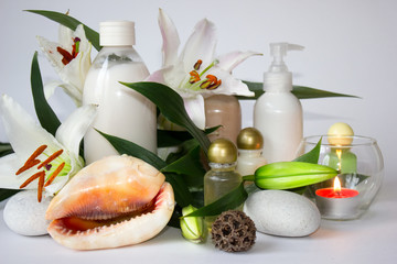 Spa and beauty treatment with natural ingredients