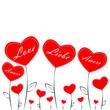 Herz Blume Liebe Amore Love Amour