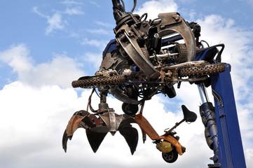 Scrap Motorbike Recycling
