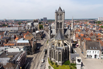 Cathedral in Ghent - Belgium