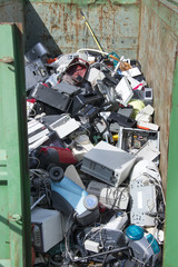 electrical stacked for landfill