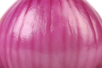 Close up purple onion