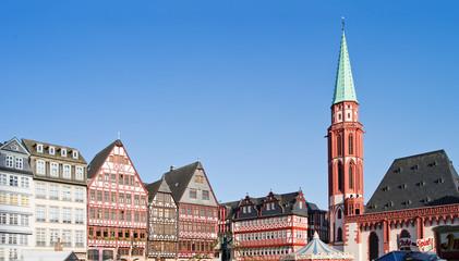 Frankfurt Römerberg und Alte Nikolaikirche