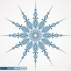 circle lace round ornamental design 01