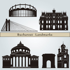 Bucharest landmarks and monuments