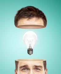 half head and bulb