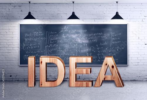 idea text concept