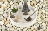 jardin zen de décoration