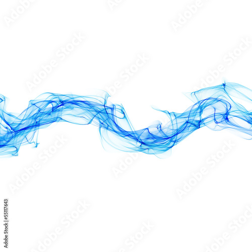 abstract smoke waves