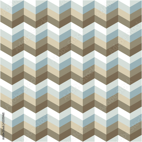 Deurstickers ZigZag abstract geometric pattern background