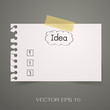 Idea and list