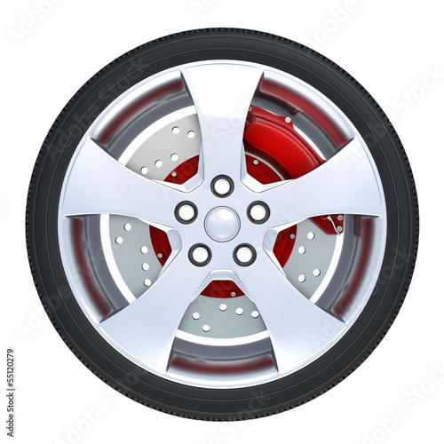 wheel isolated