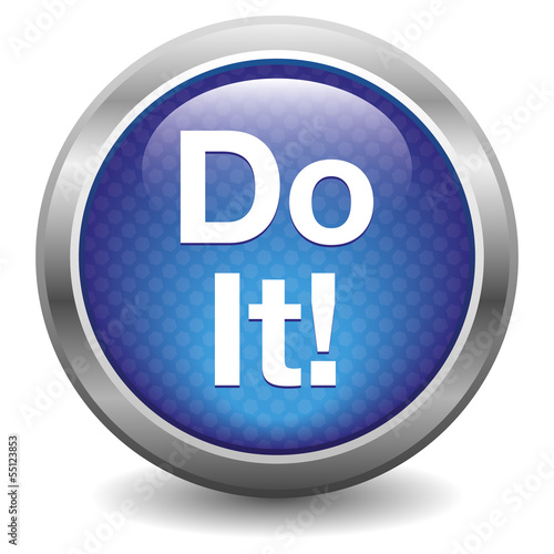 Do It blue button