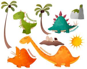 stock dinosaures