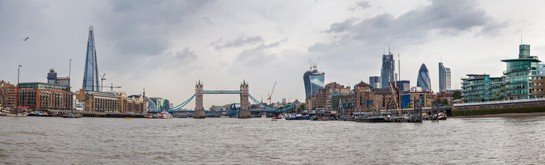 Panorama, London Thames