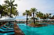 Travel pool resort
