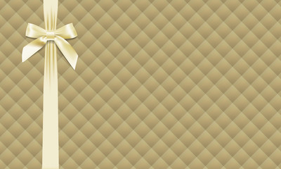 Textured background with bow