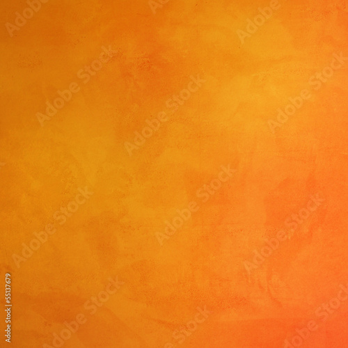 canvas print picture Orange Wall Background