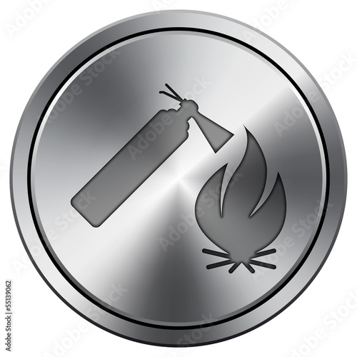 Shiny metallic icon