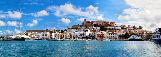 Panorama of Ibiza, Spain © Photocreo Bednarek