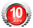 10 Jahre! Button, Icon