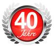 40 Jahre! Button, Icon