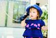 speaking  toddler girl