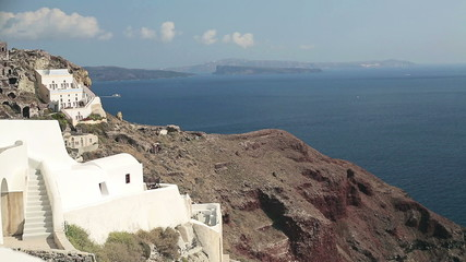 Classic Santorini landscape