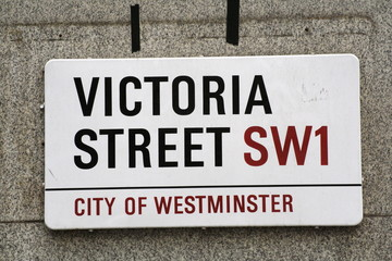 Victoria Street a famous street in London