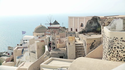 Classic Santorini architecture