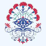 Fototapety traditional ottoman carnation chine design
