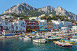 Leinwandbild Motiv Capri, Marina Grande