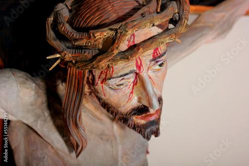 Jezus na krzyżu - 55144299