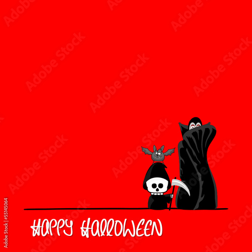 plakat halloween VI