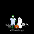 plakat halloween XV
